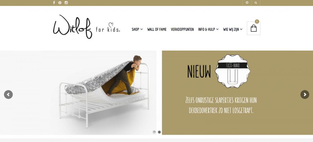 Webwinkel Witlof for kids