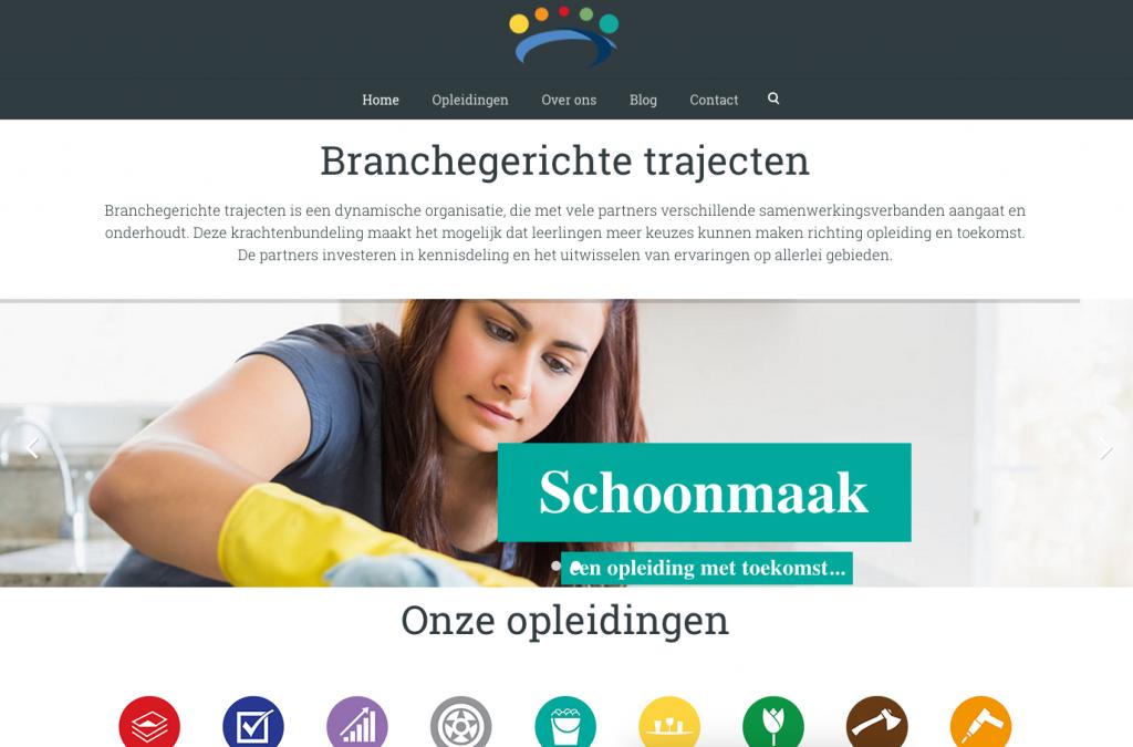 Website Branchegerichte Trajecten