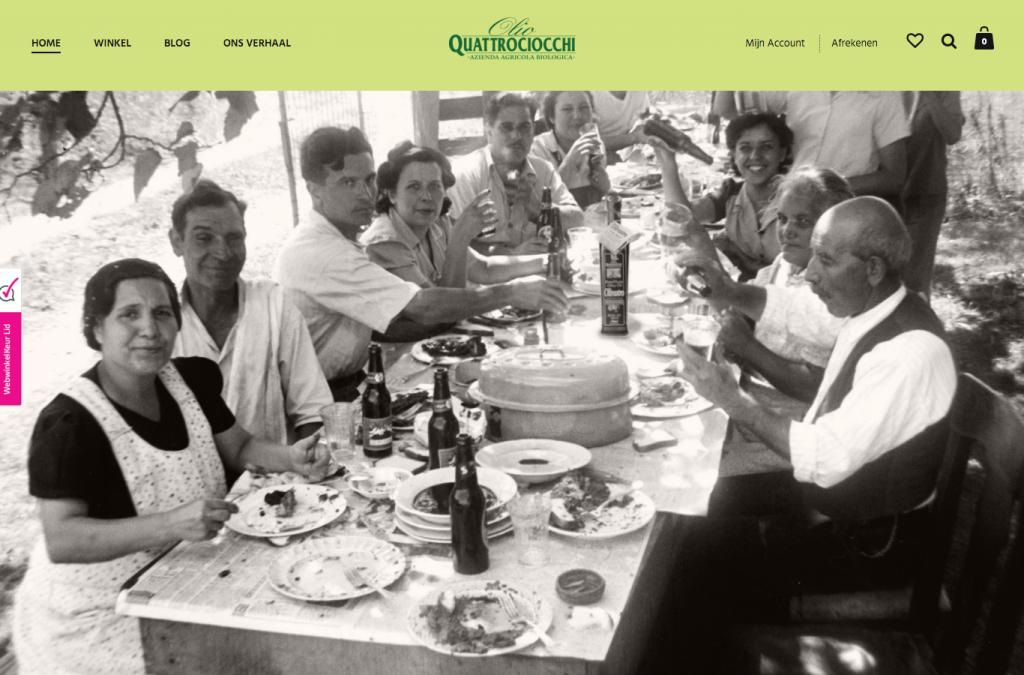 Webwinkel Quattrociocchi Olijfolie Nederland